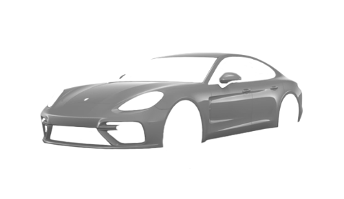 Цвета кузова Panamera Turbo